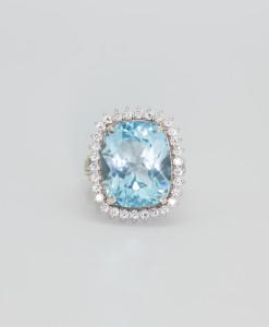 Blue Topaz Ring