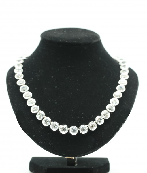 White Topaz Necklace